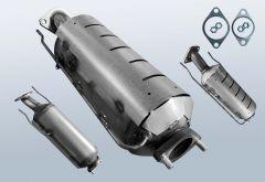 Filtres à particules diesel HYUNDAI I30cw 1.6 CRDi (FD)