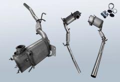 Filtres à particules diesel AUDI A3 1.6TDI (8P1)