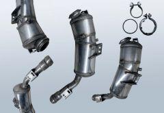Filtres à particules diesel MERCEDES BENZ S-Klasse S 320 CDI 4matic (W221080)