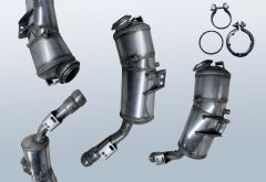 Filtres à particules diesel MERCEDES BENZ S-Klasse S 350 CDI 4matic (W221081)