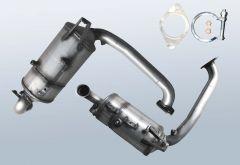 Filtres à particules diesel MAZDA 2 1.6 MZ-CD (DE)