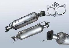 Filtres à particules diesel KIA Carens 2.0 CRDI (UN)