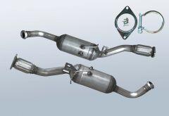 Filtres à particules diesel RENAULT Trafic II 2.0CDTI (J83)
