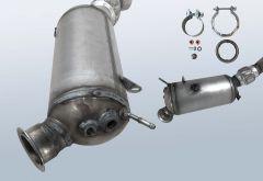 Filtres à particules diesel BMW 525xd (F10 F18)