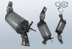 Filtres à particules diesel BMW 116d (E81)