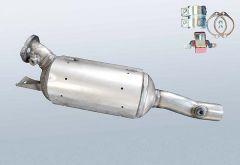 Filtres à particules diesel RENAULT Espace IV 2.0 dCi (JK03_JK04)