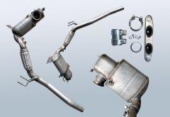 Filtres à particules diesel AUDI A3 1.6 TDI (8P1)