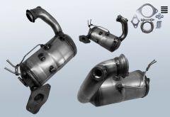 Filtres à particules diesel RENAULT Capture 1.5 dCi 90 (J5)