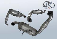 Filtres à particules diesel FORD C-Max 1.6 TDCI (CB7)