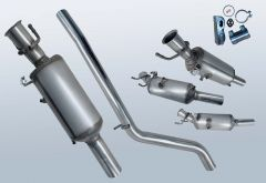 Filtres à particules diesel MERCEDES BENZ A200 CDI (W176001)