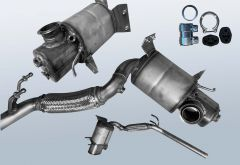 Filtres à particules diesel AUDI A1 Sportback 1.6 TDI (8XA,8XK)