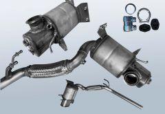 Filtres à particules diesel AUDI A1 Sportback 2.0 TDI (8XA 8XF)