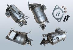 Filtres à particules diesel KIA Carens IV 1.7 CRDI (RP)
