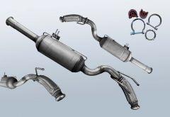 Dieselpartikelfilter FIAT Scudo 2.0 D Multijet (270)