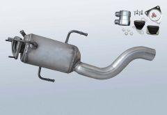 Filtres à particules diesel PORSCHE Cayenne 3.0 TDI (9PA,955)