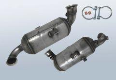 Filtres à particules diesel PEUGEOT 2008 1.6 HDI 90