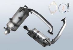 Filtres à particules diesel FORD Focus 1.6 TDCI (CAP)