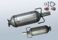 Filtres à particules diesel OPEL Astra H 1.3CDTI (L69)