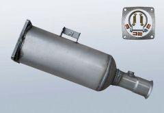 Filtres à particules diesel PEUGEOT 807 2.2 Hdi (E)