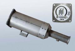 Filtres à particules diesel PEUGEOT 807 2.0 HDI (E)
