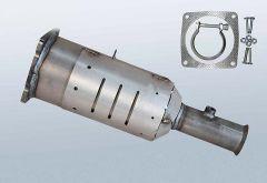 Filtres à particules diesel PEUGEOT 607 2.0 HDI (9D_9U)