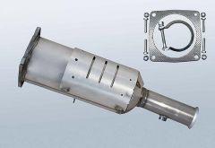 Filtres à particules diesel PEUGEOT 607 2.7 HDI (9D,9U)