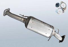 Filtres à particules diesel FORD Kuga I 2.0 TDCI (CBV)