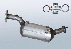 Filtres à particules diesel SUZUKI Grand Vitara II 1.9 DDiS (JB419WD,JB419XD)