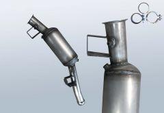 Filtres à particules diesel MERCEDES BENZ ML 280 4matic CDI (W164120)