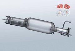 Filtres à particules diesel CHEVROLET Captiva 2.0 D (C100|C140)