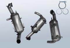 Filtres à particules diesel CHEVROLET Aveo 1.3 D (T300)