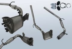Filtres à particules diesel SKODA Praktik 1.4 TDI (5J)