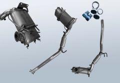 Filtres à particules diesel VW Jetta VI 1.6TDI (NCS)