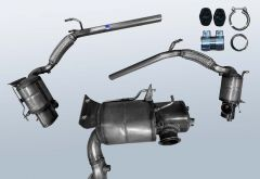 Filtres à particules diesel SKODA Praktik 1.6 TDI (5J)