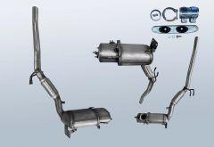 Filtres à particules diesel VW Jetta VI 2.0 TDI (NCS)