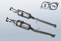 Filtres à particules diesel FORD Ranger 2.2 TDCI (TKE)