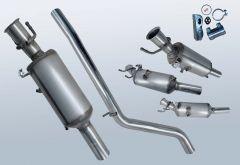 Filtres à particules diesel MERCEDES BENZ B180 CDI (W246200)